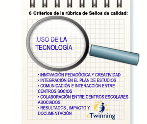 lupa destacando criterio TIC