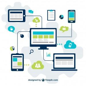 imagen de comunicación en dispositivos