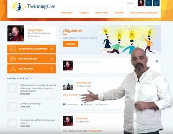 ¿Qué es eTwinning Live?