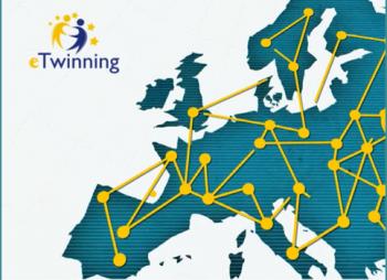 mapa de Europa conectada