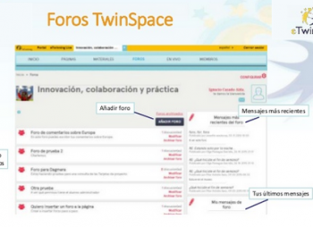 foros en TwinSpace