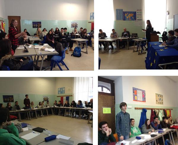 Asamblea de alumnos The Changing Face of Europe