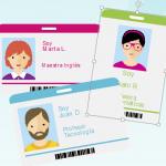 ilustración de tres fotos perfiles