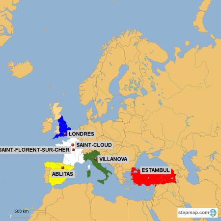 Mapa de socios