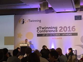 Resumen de la Conferencia Anual eTwinning 2016 (Atenas)