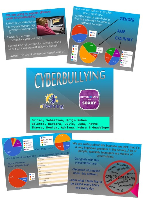 collage cyberbulling