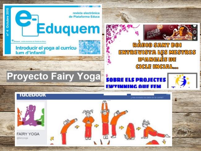 difusión proyecto Fairy Yoga