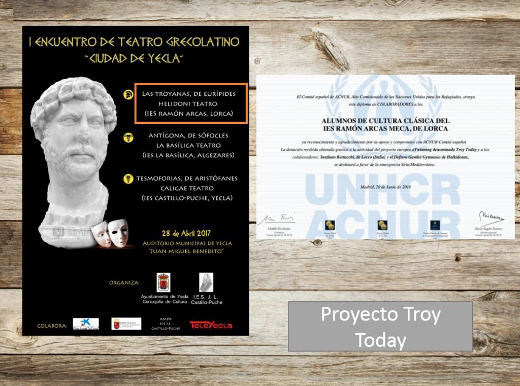 Difusión proyecto Troy Today