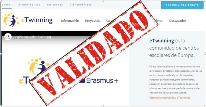 Validación del registro de usuario en España