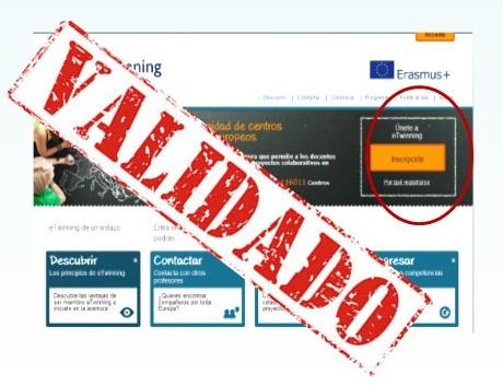 Registro y Validación de perfil en España