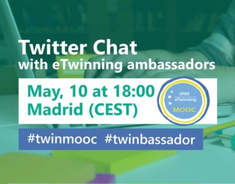 Twitter chat con embajadores europeos