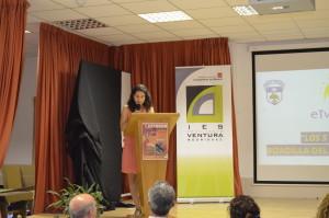 Coordinadora presenta proyecto eTwinning
