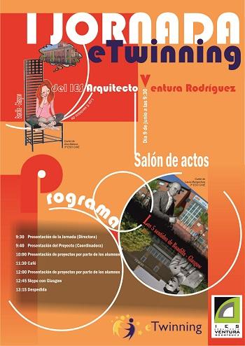 I Jornada eTwinning en el IES Arquitecto Ventura de Boadilla del Monte de Madrid