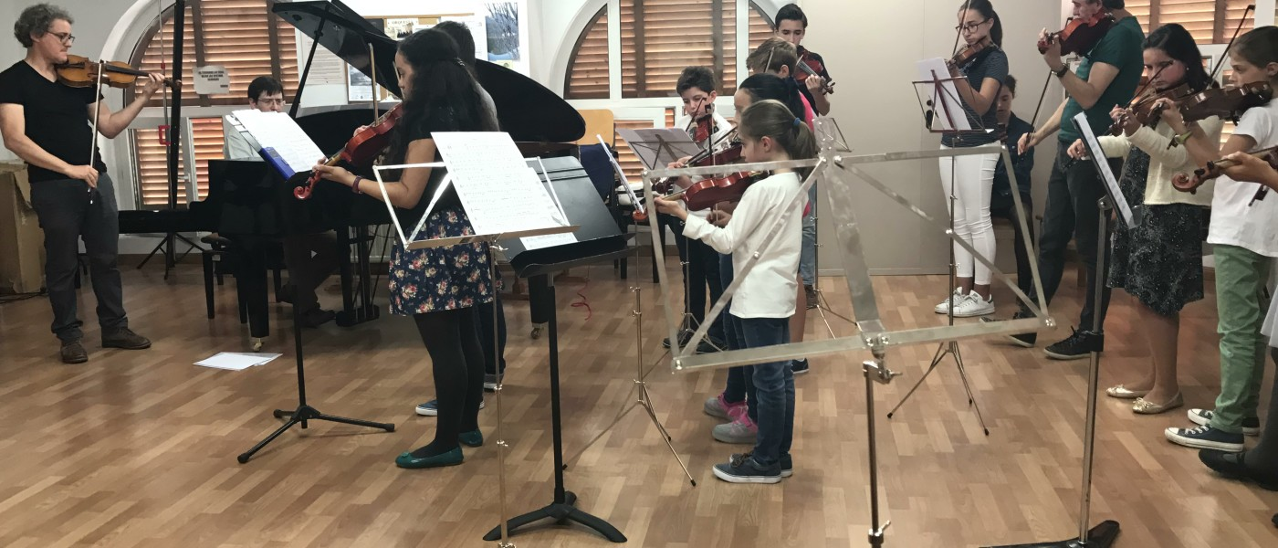 La acción eTwinning en el Conservatorio Profesional de Música de Zaragoza