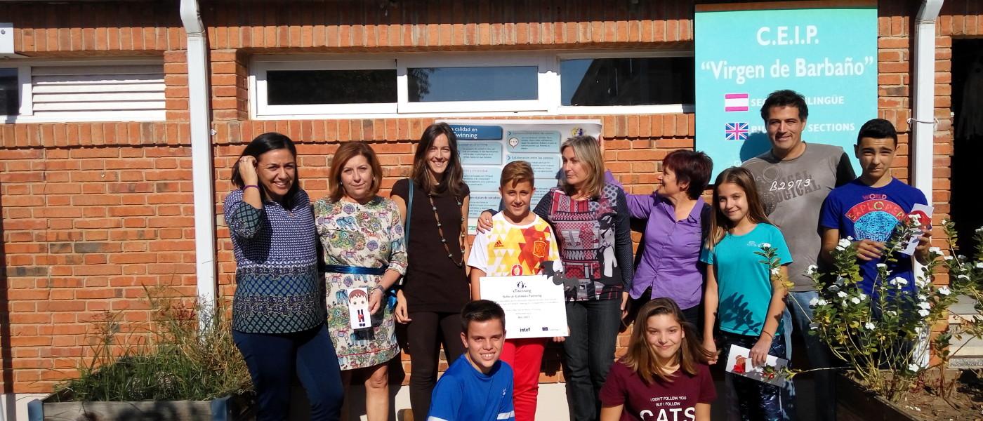 eTwinning en el CEIP Virgen de Barbaño de Montijo (Badajoz)