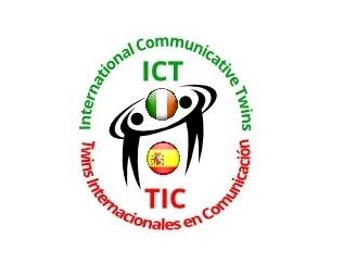 ICT Logo con márgenes
