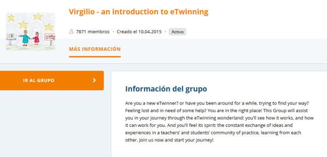 Grupos destacados de eTwinning