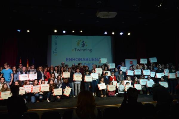II Jornada de Reconocimiento a proyectos eTwinning. Comunidad de Madrid