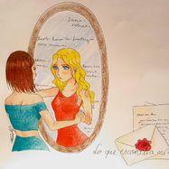 """Proyecto """"Lo que escondía mi espejo"""""""