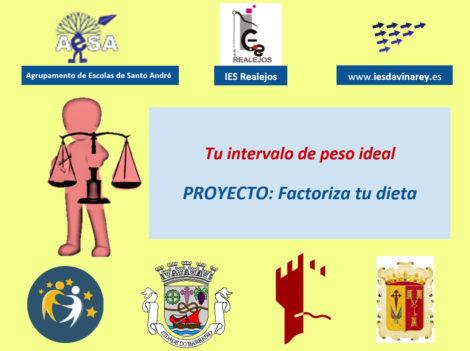 """""""Factoriza tu dieta"""", proyecto eTwinning sobre hábitos de vida saludable"""