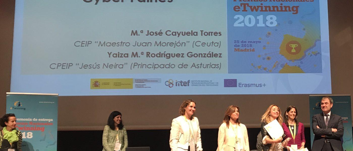"Premio Nacional eTwinning 2018 ""Cyber Fairies"""