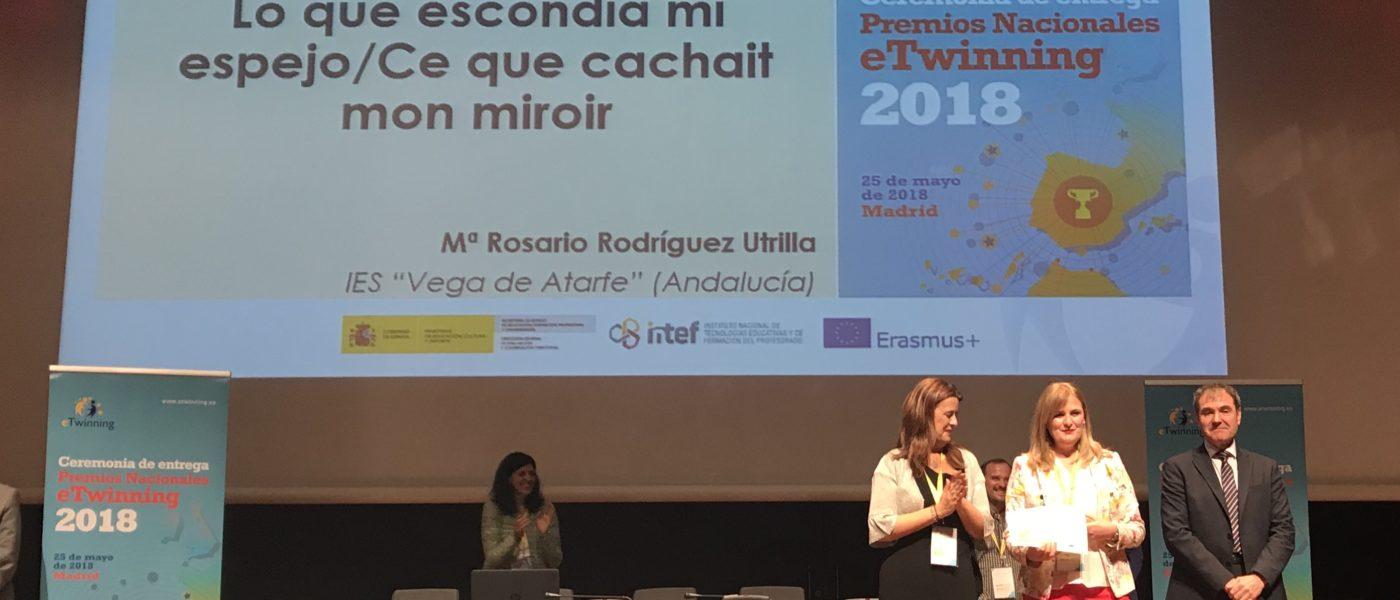 """Premio Nacional eTwinning 2018 """"Ce que cachait mon miroir / Lo que escondía mi espejo"""""""