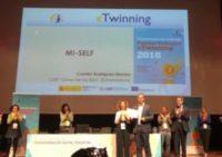 "Premio Nacional eTwinning 2018 ""MI SELF"""
