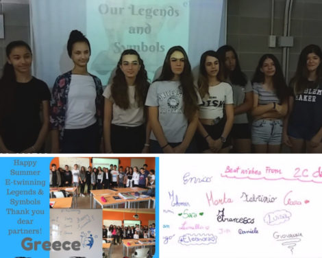 "Premio Nacional eTwinning 2018: ""Our legends and symbols"""