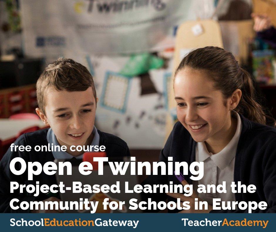 """Curso """"Open eTwinning"""" desde Teacher Academy"""