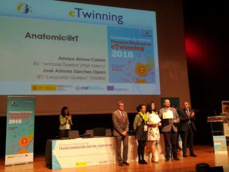 "Premio Nacional 2018: ""Anatomic@rt"""