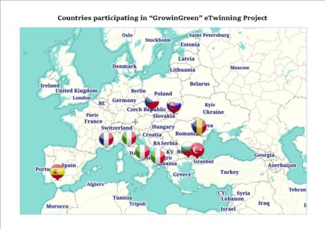 "Premio Nacional eTwinning 2018: ""GrowinGreen"""