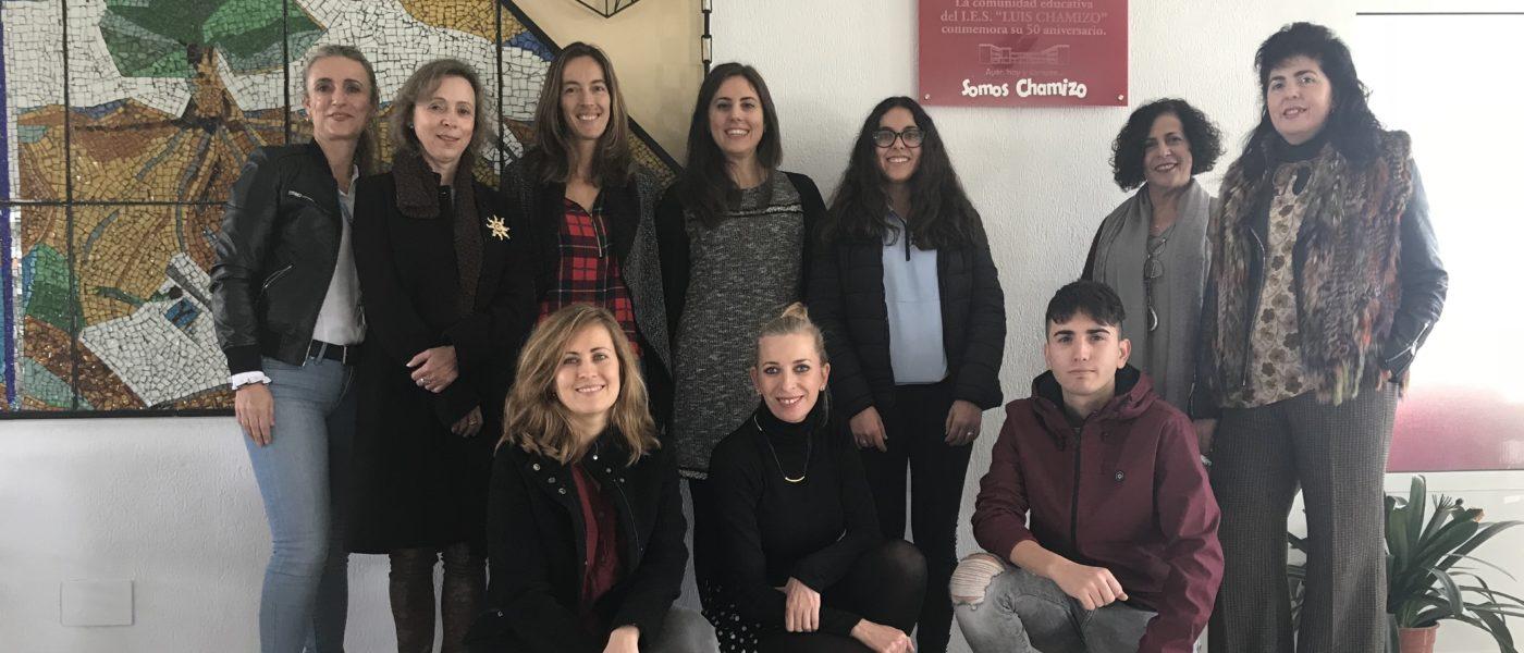 eTwinning visita el IES Luis Chamizo en Don Benito (Badajoz)