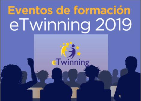 Eventos de formación eTwinning 2019. Asignación definitiva.