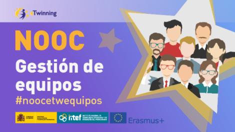 NOOC Gestiona tu equipo en proyectos eTwinning