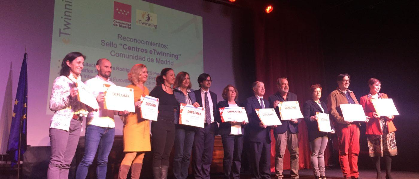 III Edición de Reconocimiento de Sellos de Calidad Nacional y Europeo eTwinning de la Comunidad de Madrid