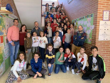 Visita al CEIP Juan XXIII de Murcia