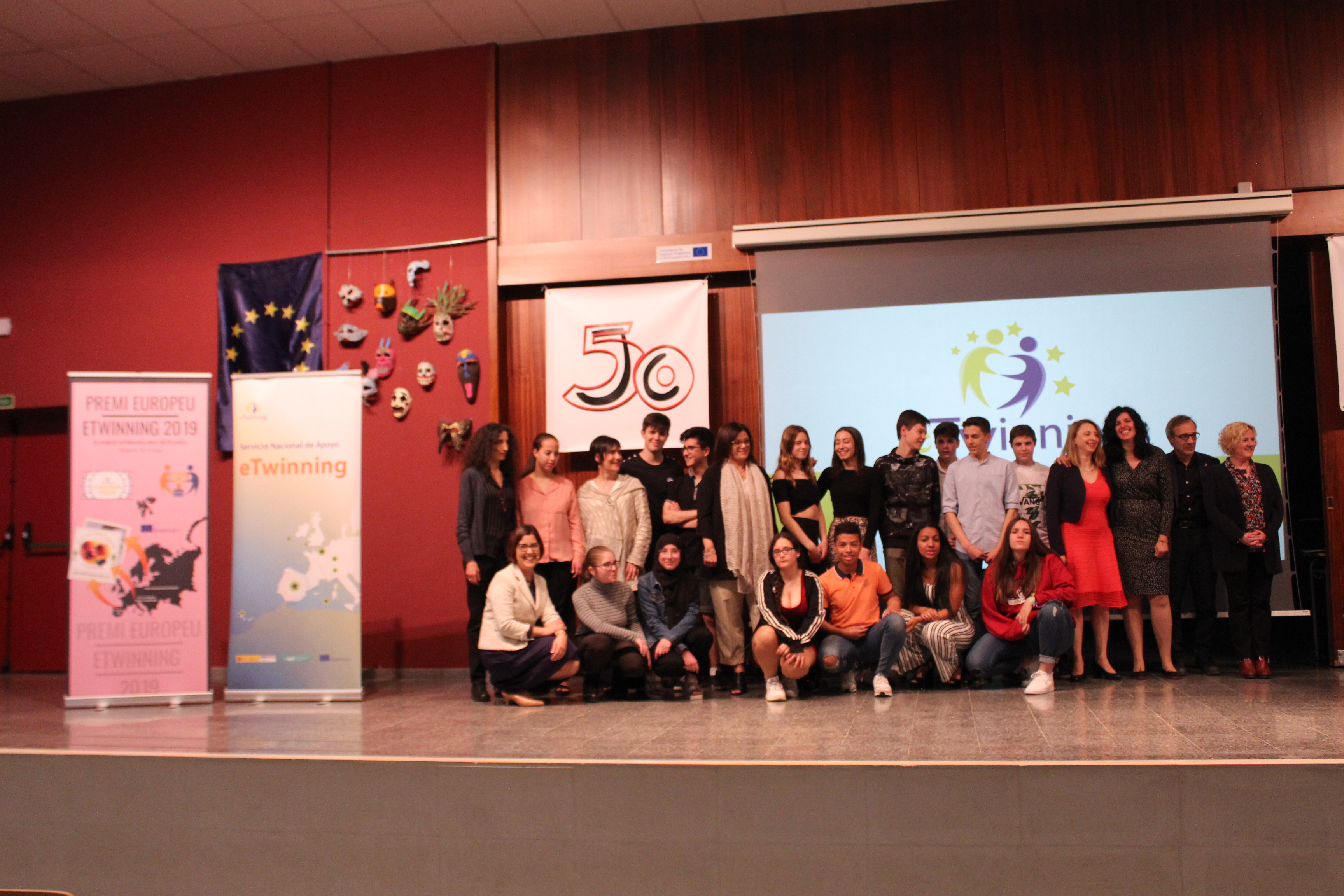 Ceremonia de entrega del Premio Europeo eTwinning