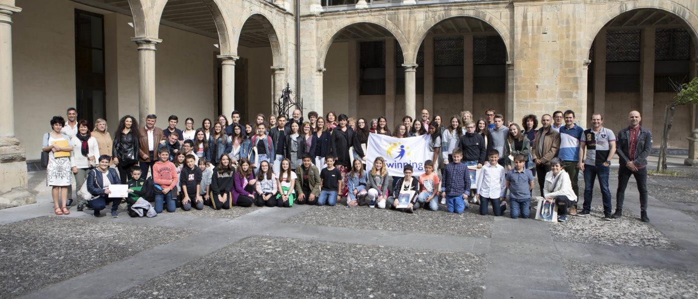 Jornada de reconocimiento de Sellos de Calidad Europeos y Centros eTwinning. Comunidad Foral de Navarra