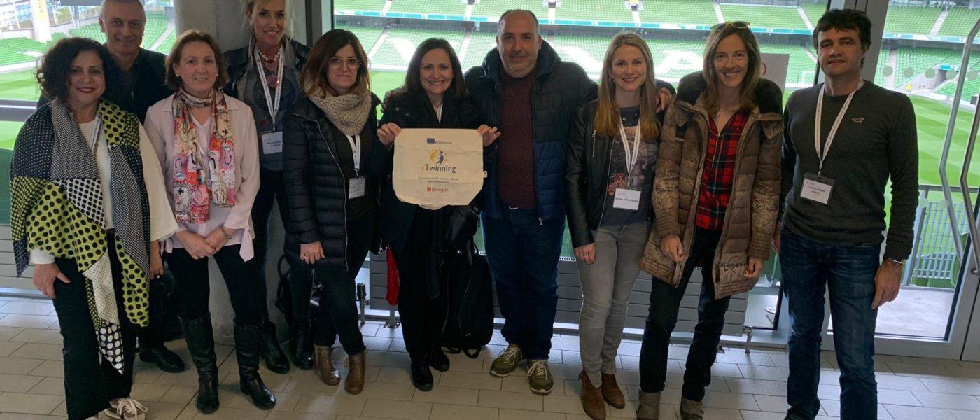 """Conferencia temática """"eTwinning schools"""" en  Dublín"""