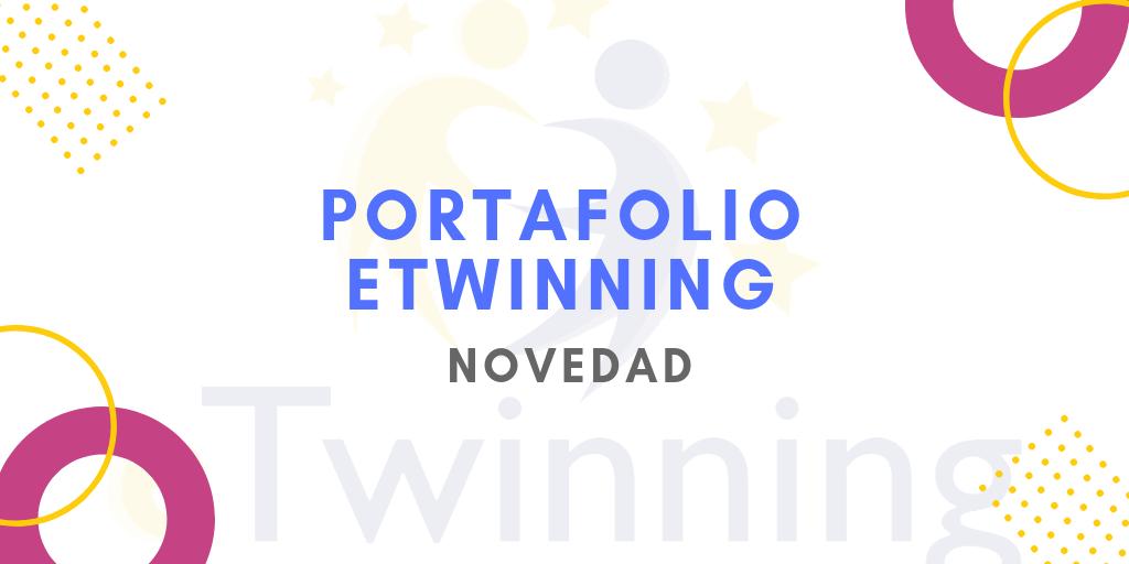 Nuevo portafolio eTwinning