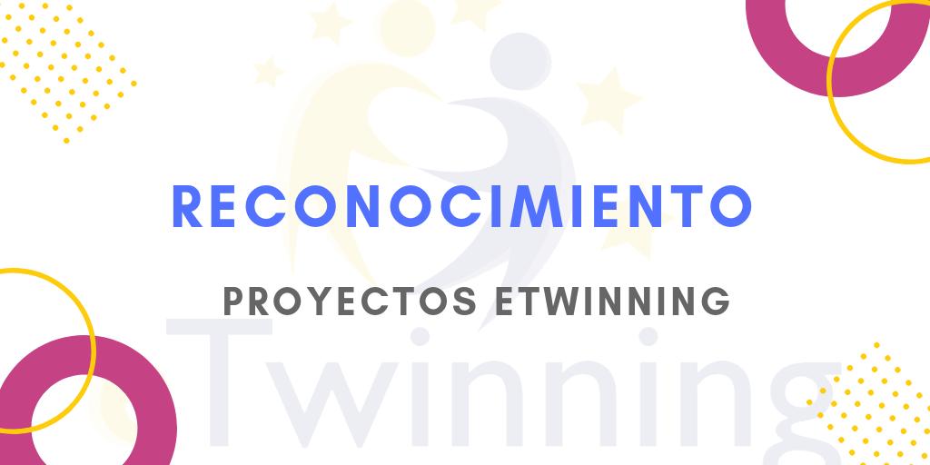 Reconocimiento de la participación en proyectos eTwinning