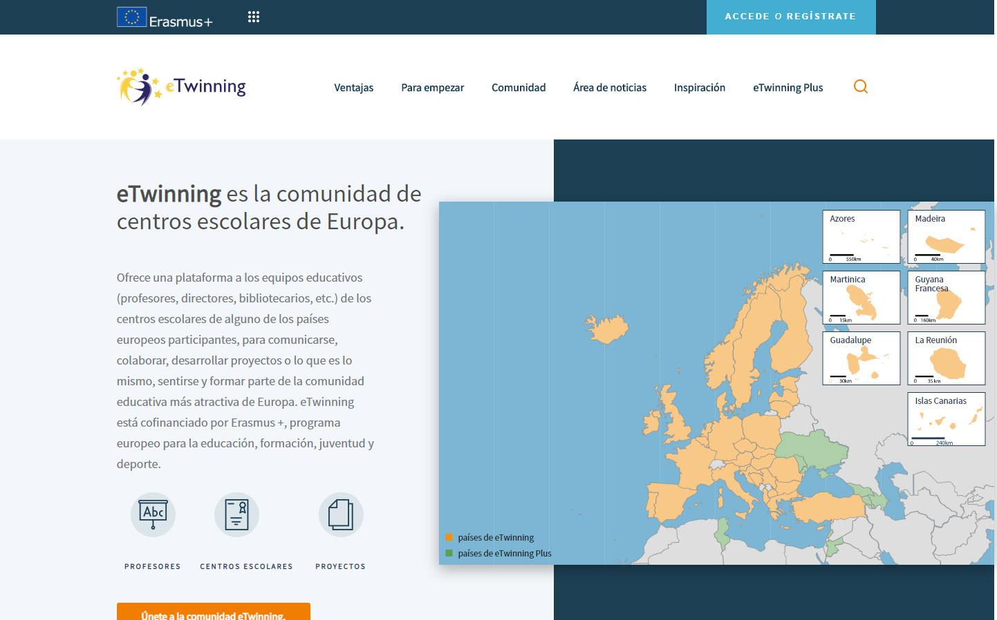 Nuevo portal europeo eTwinning
