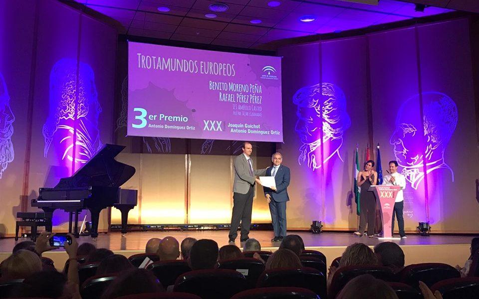 """El proyecto """"Trotamundos Europeos"""" es reconocido en los premios Antonio Domínguez"""