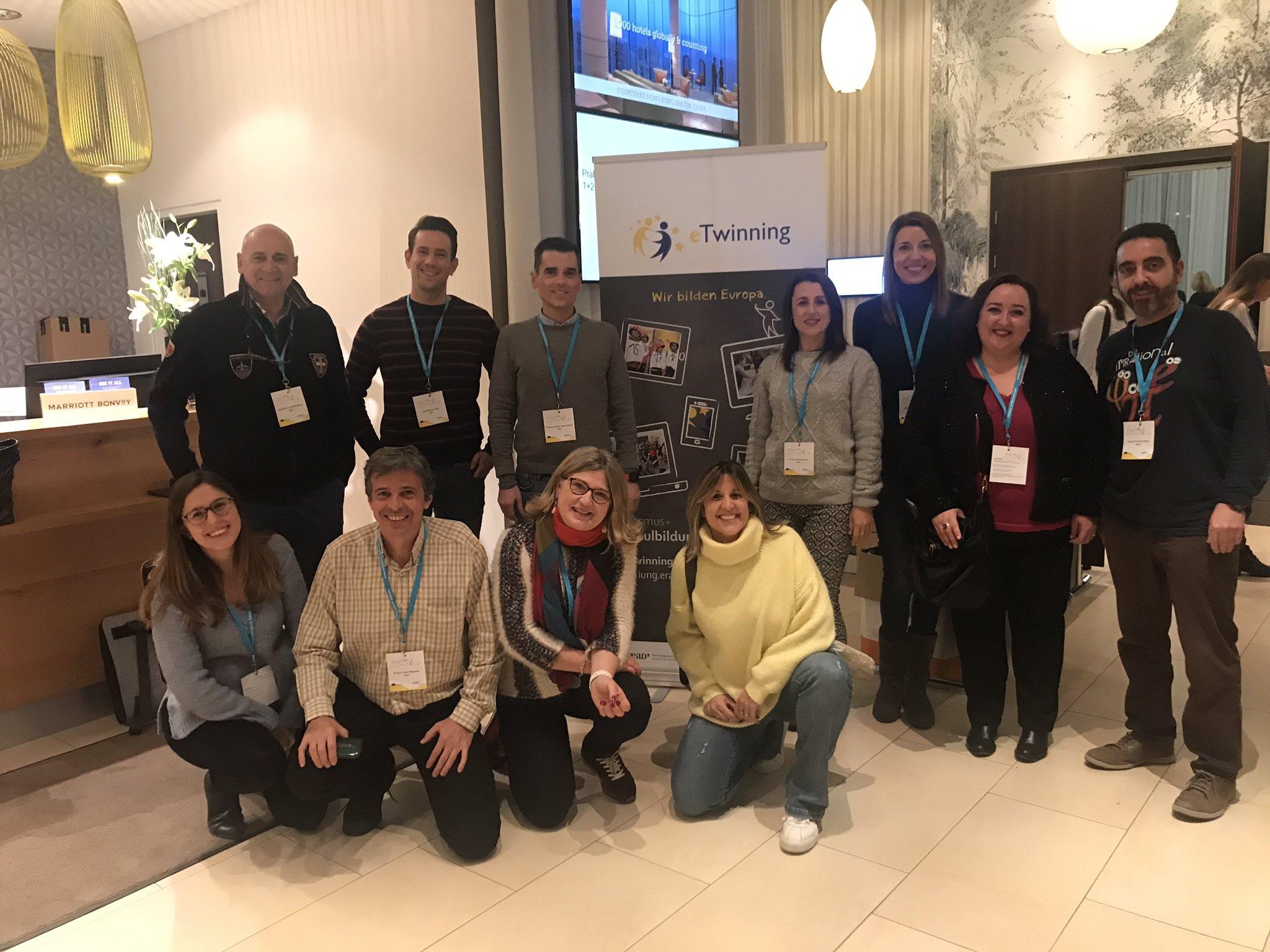 "PDW eTwinning en Viena ""Digital Competence & IT Didactics"""