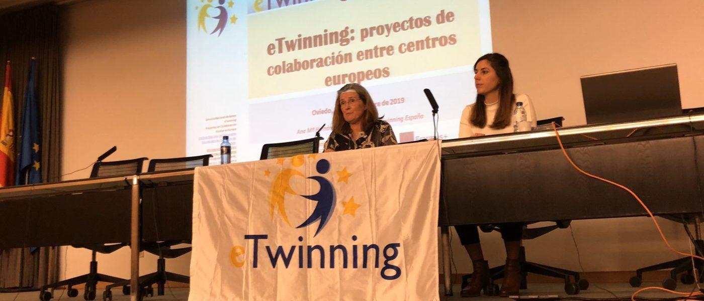 El SNA eTwinning visita el IES Alfonso II en Oviedo