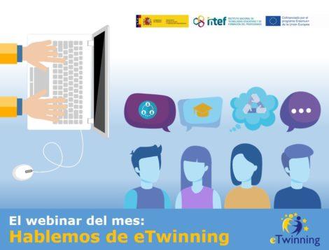 El webinar del mes de mayo: prepárate para ser un centro eTwinning