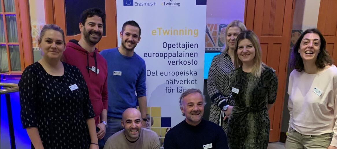 Evento eTwinning: 'Democratic participation and eTwinning' en Finlandia