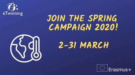 Llega la campaña de primavera a eTwinning