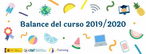 Balance del programa eTwinning durante el curso 2019/2020