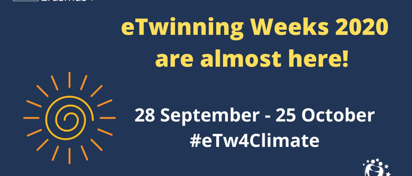 ¡Vuelven las eTwinning weeks!